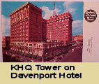 KHQ Tower - Davenport Hotel